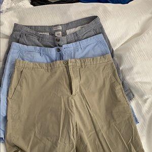3 pairs of men's shorts